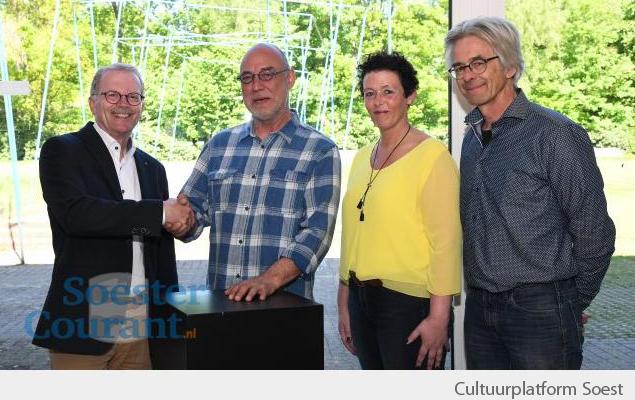 Frank Linsewski - winnaar cultuurprijs Soest